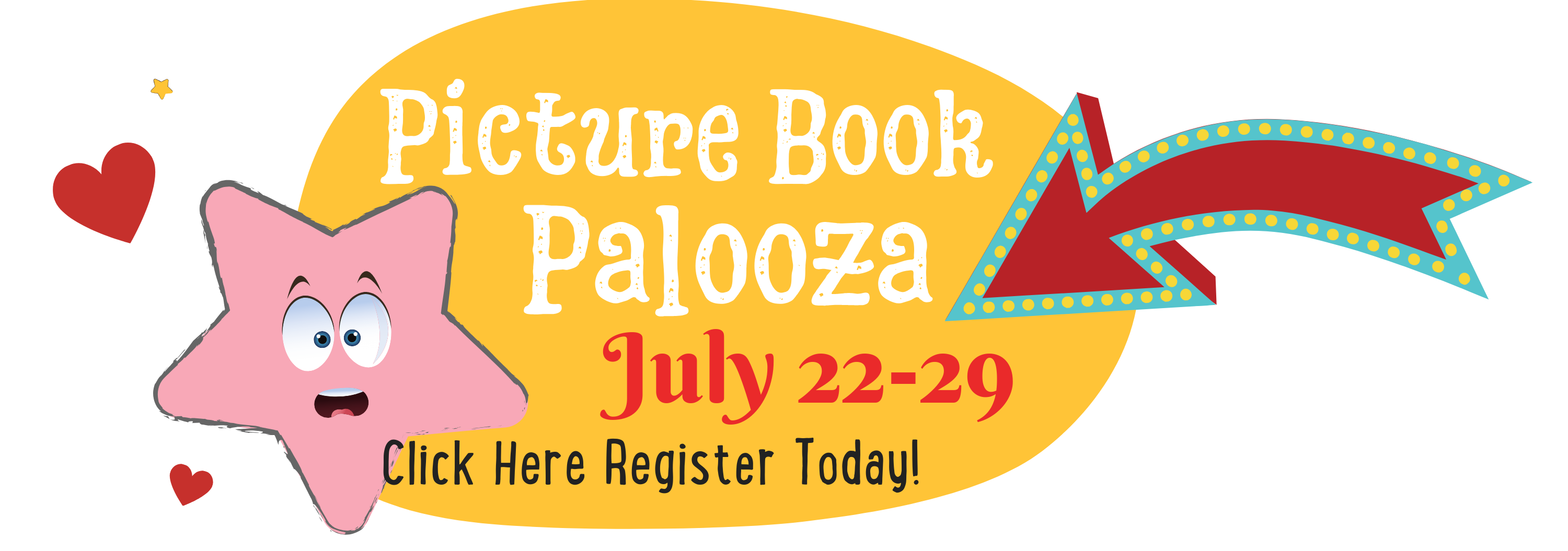 Registration for Pictre Book Palooza at the Children's Book Academy