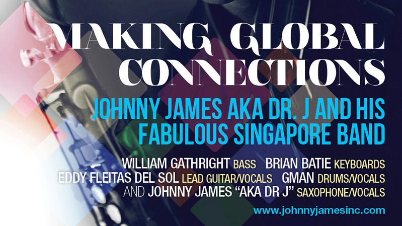 Johnny James a.k.a Dr. J - Making Global Connections