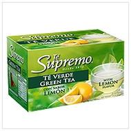 Te Verde con Limon (Green Tea With Lemon Flavor) from Te Supremo