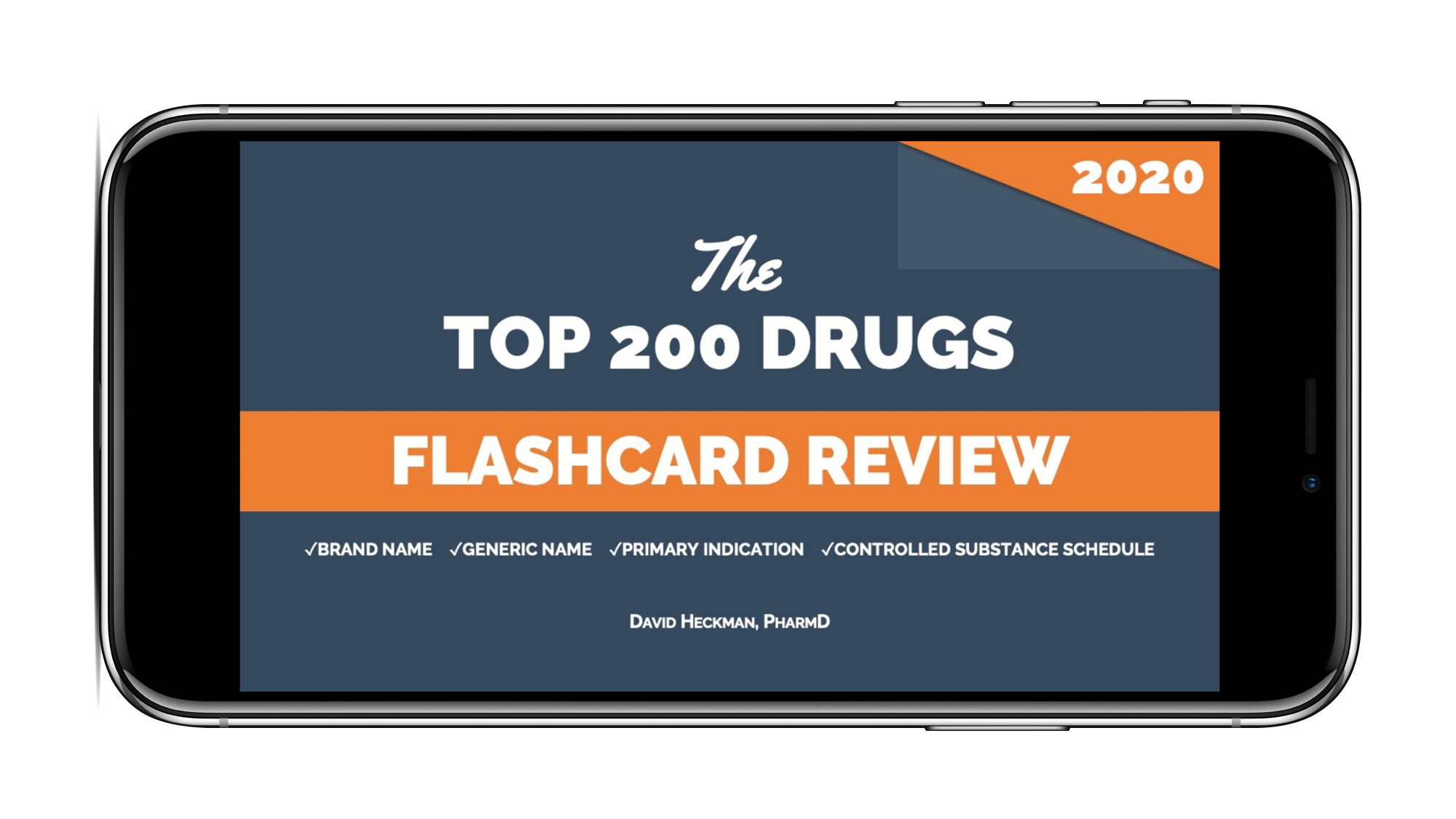 Top 200 Drugs Flashcard Review for 2020