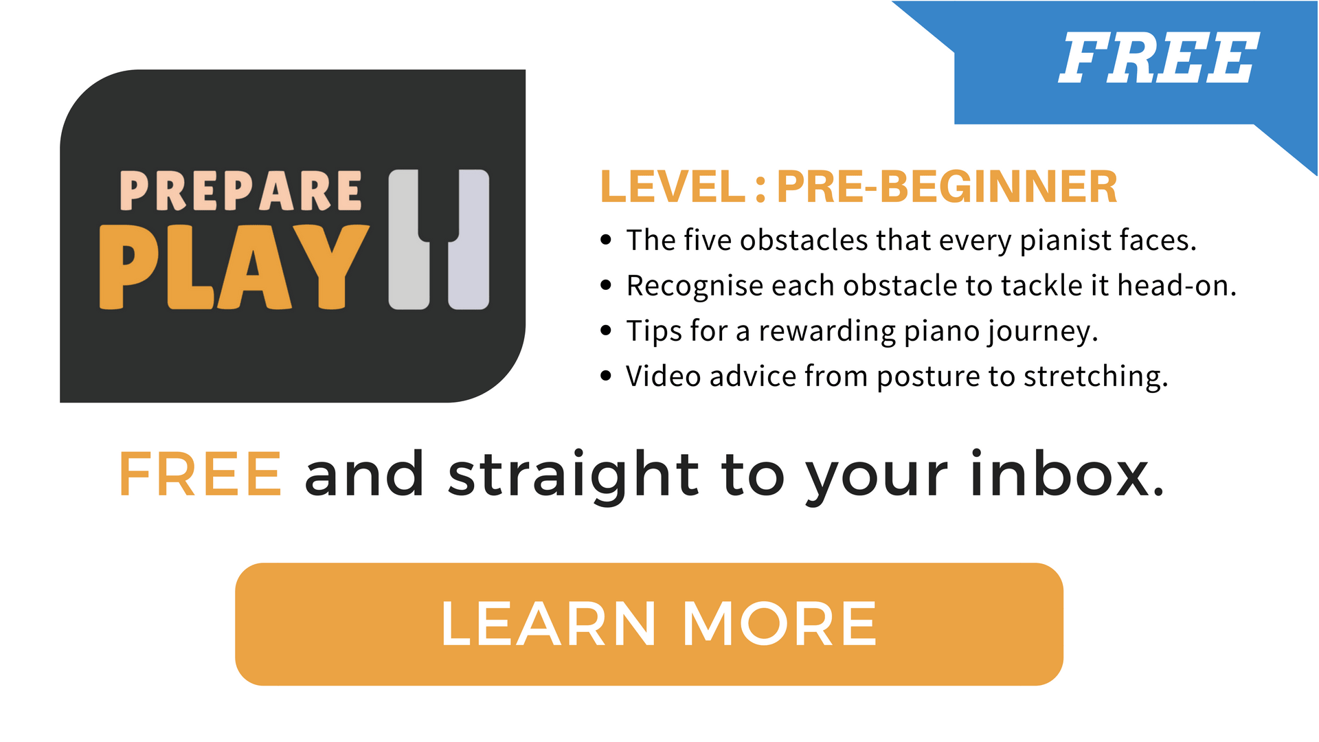Prepare To Play free course Benefits! Learn more.