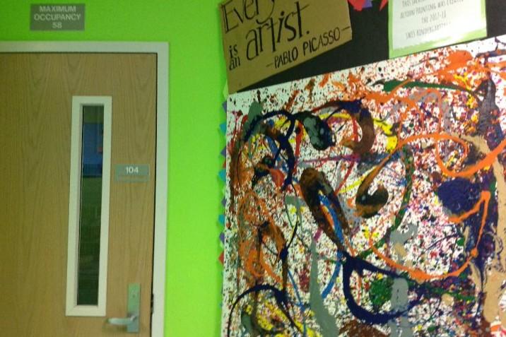 North Campus Art Room