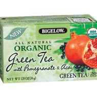 Organic Green Tea with Pomegranate and Acai from Bigelow