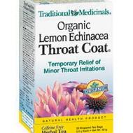 Organic Lemon Echinacea Throat Coat from Traditional Medicinals