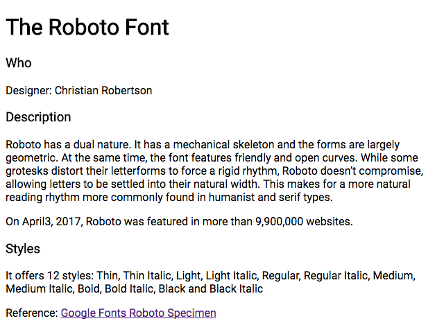 Practice Using Google Fonts | Web Skills Bootcamp