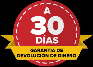 30 días de garantía