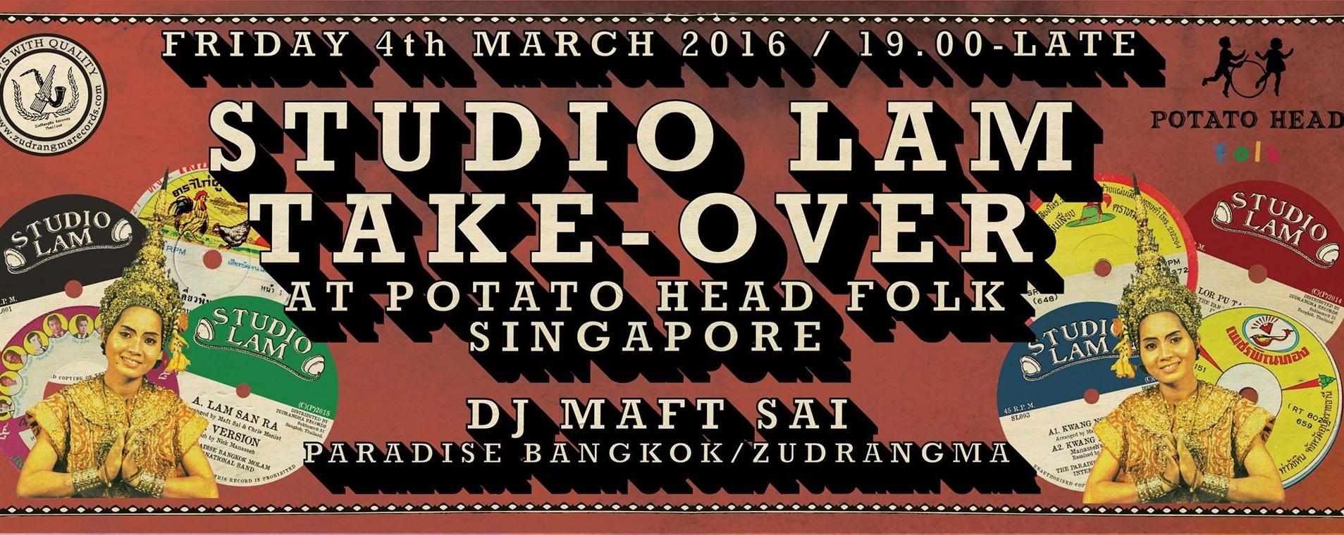 Studio Lam Take-Over at Potato Head Folk, Singapore
