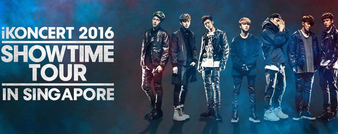 iKONCERT 2016 Showtime Tour in Singapore