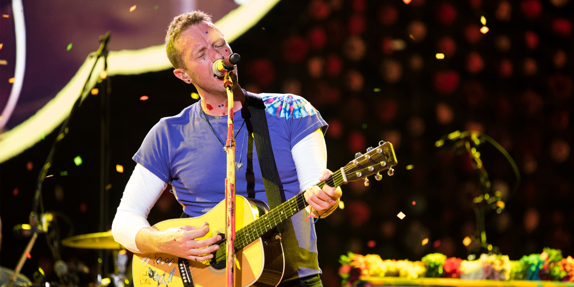 WATCH: Coldplay performs a song written about Singapore