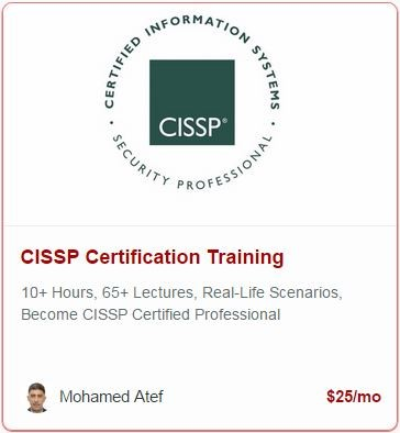 free cissp certification training