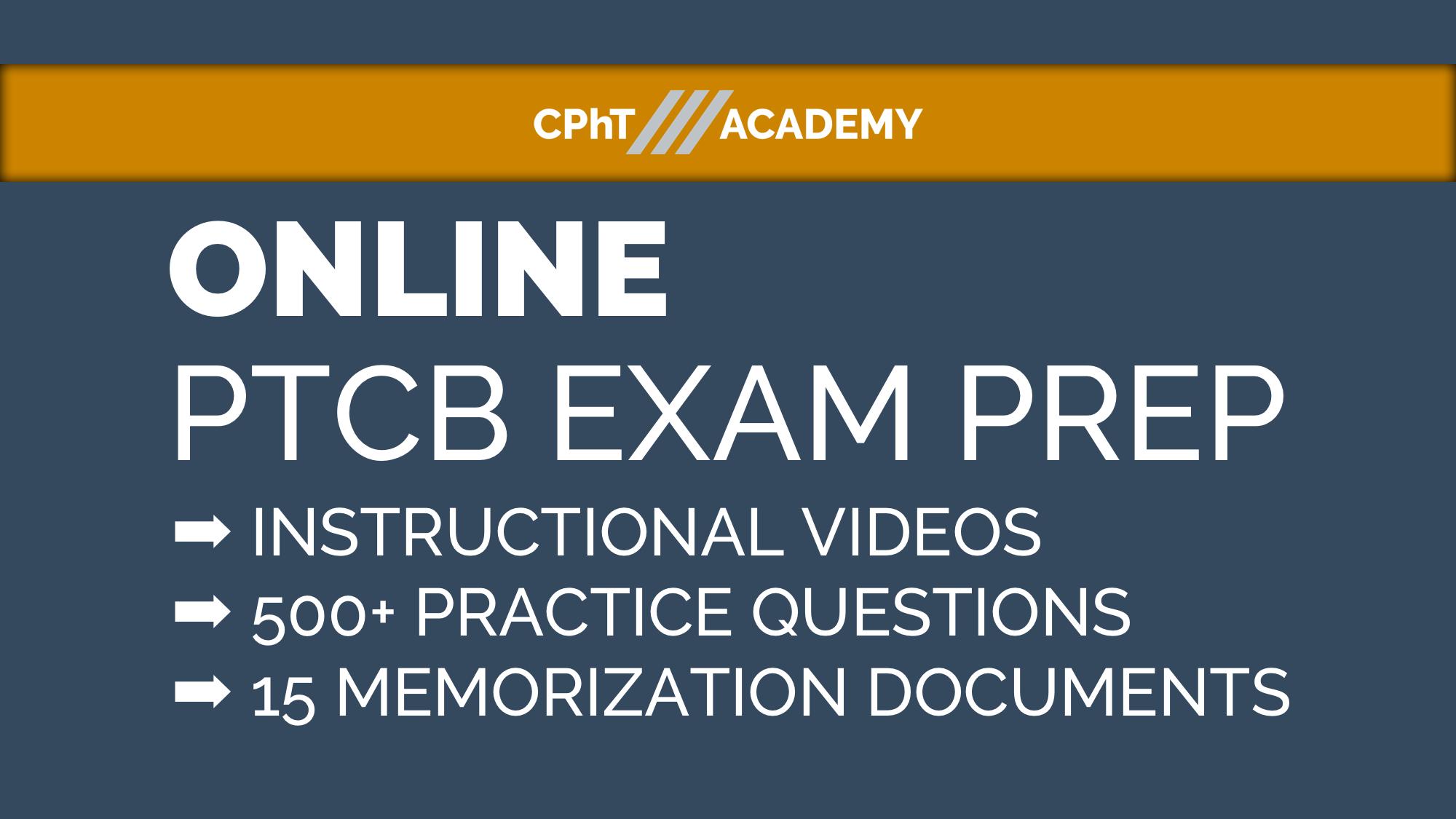 Ptcb Excpt Exam Prep Cpht Academy