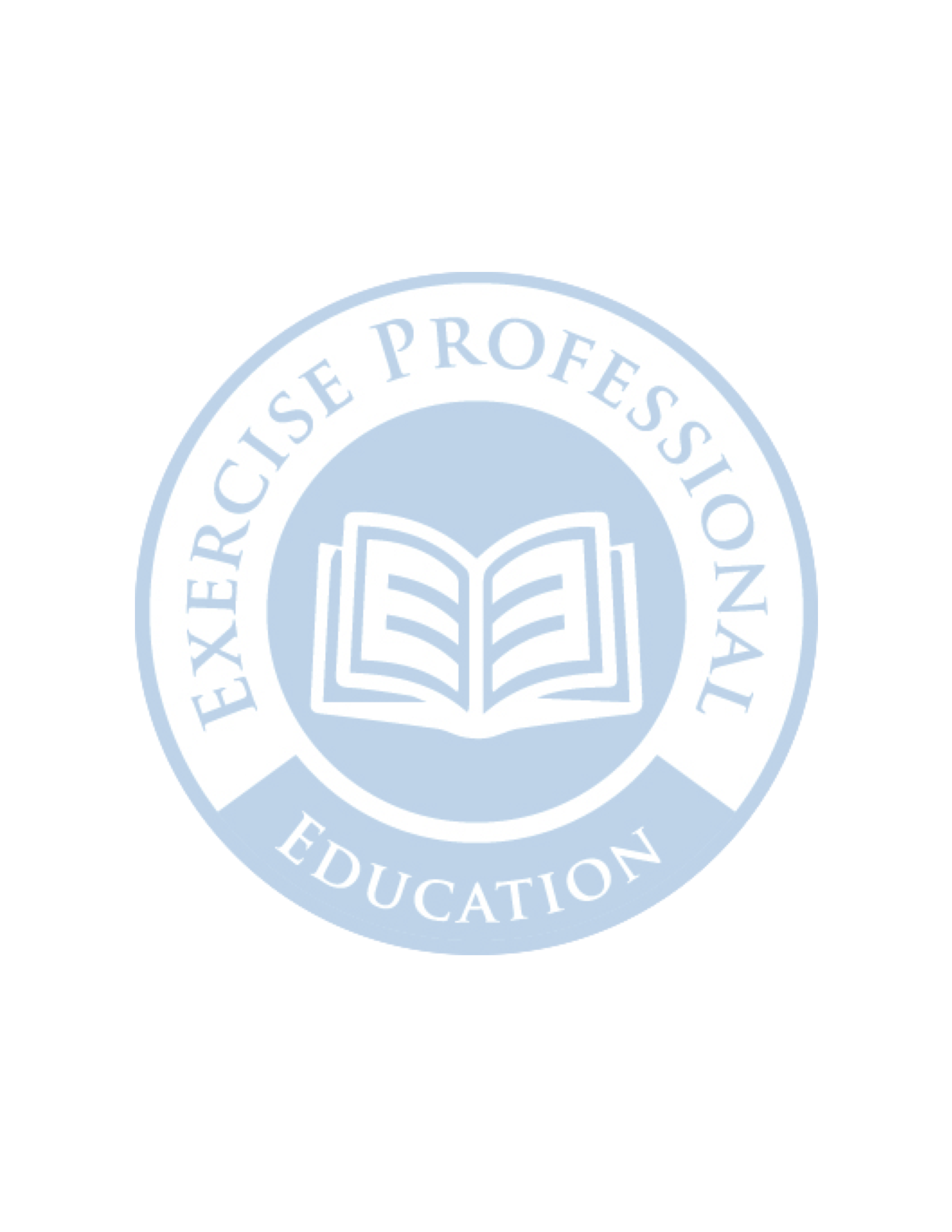 Exercise Professional Education