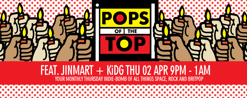 POPS OF THE TOP — 2 APR