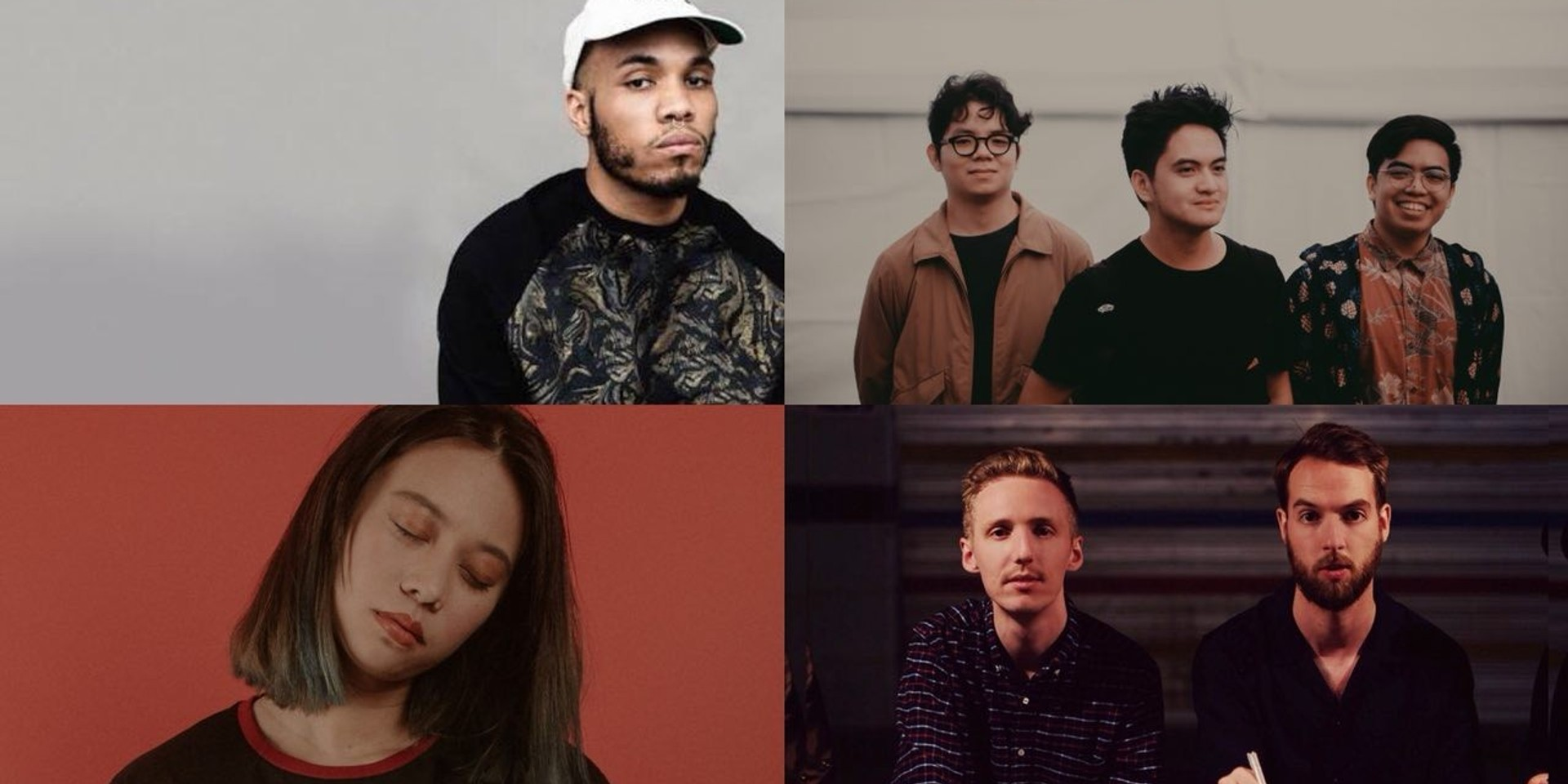 Anderson .Paak, Honne, Tom's Story, and Reese Lansangan to perform in new live music series, Karpos Live