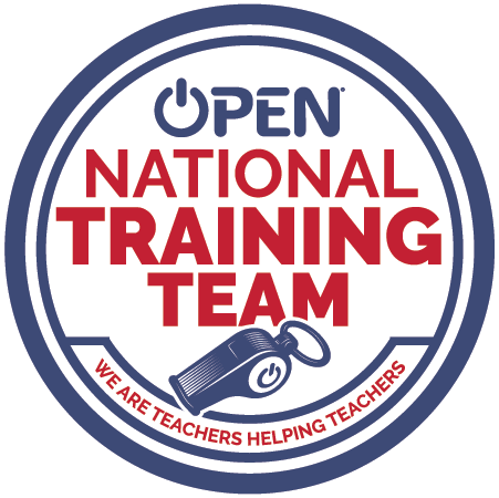 OPEN National Trainer Badge