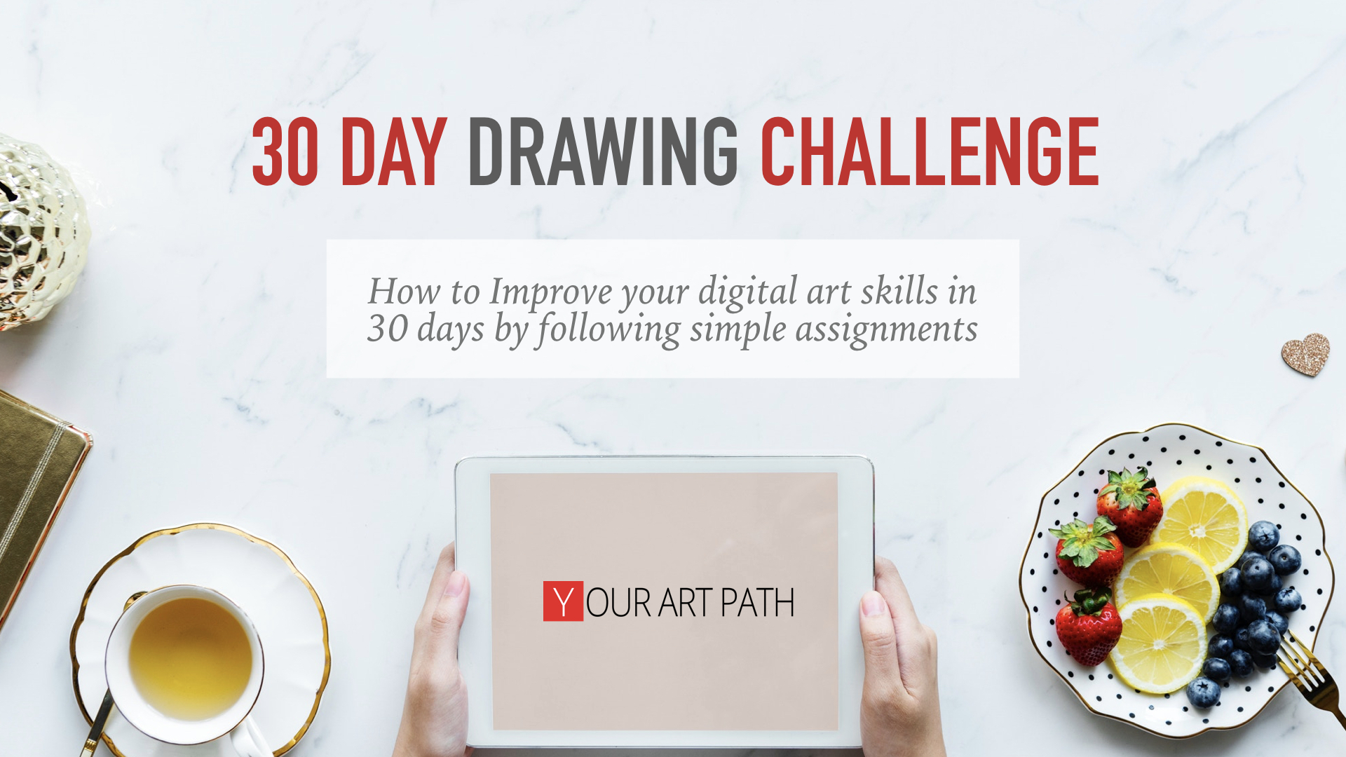 30 days drawing challenge your art path