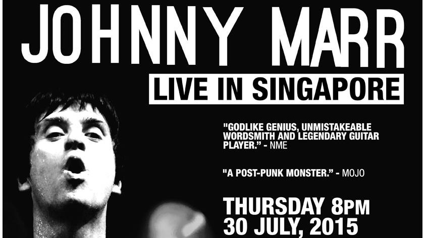 JOHNNY MARR - Live In Singapore