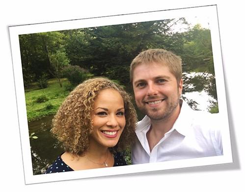Course Author Anton & Wife