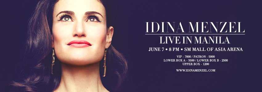 Idina Menzel Live in Manila