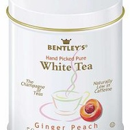 Ginger Peach White Tea from Bentley's