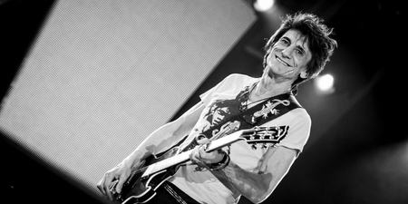 The Rolling Stones' guitarist Ronnie Wood beats cancer