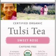 Sweet Rose Tulsi Tea from Organic India
