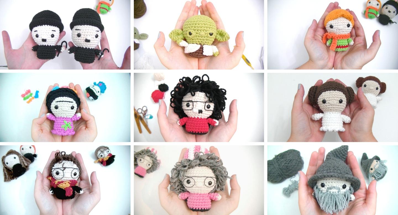 Laboratorio de Amigurumis - Nivel inicial | Escuela de Crochet Cora