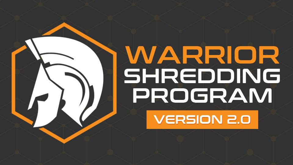 warrior shredding program coupon