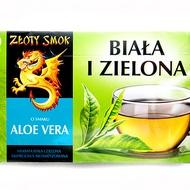 Biała i zielona o smaku aloe vera from Złoty Smok