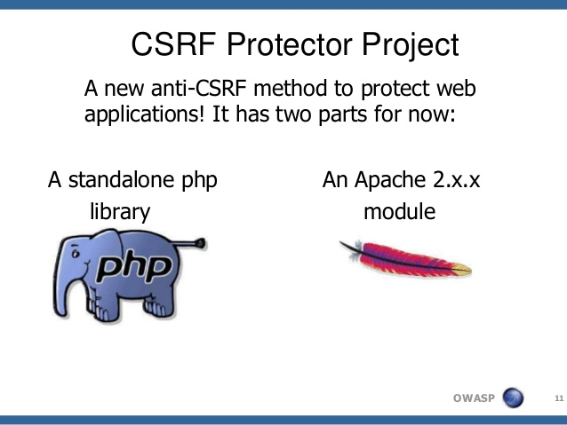 I'll implement CSRF Protector in your php web application