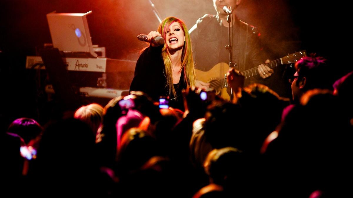 Avril Lavigne Live In Singapore