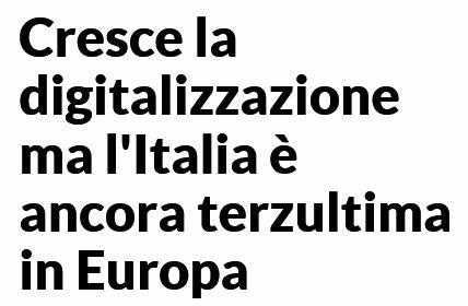 italia non digitale