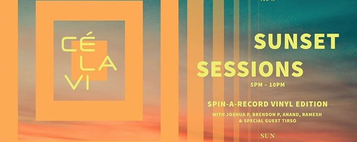 Sunset Sessions - Spin A Record Vinyl Edition ft. JNR