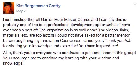 Genius Hour Master Course | Blend Education