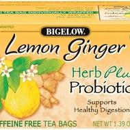 Lemon Ginger plus Probiotics from Bigelow