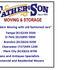 Father & Son Moving and Storage of Tampa | Valrico FL Movers