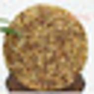 2015 Puer Tree Flower Cake 357g Yunnan Menghai Organic Puer Raw Tea Sheng Cha from King Tea Mall (AliExpress)