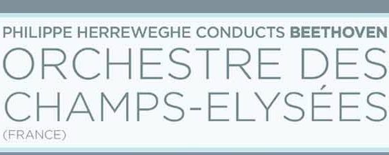 CLASSICS ORCHESTRE DES CHAMPS-ELYSÉES CONDUCTED BY PHILIPPE HERREWEGHE