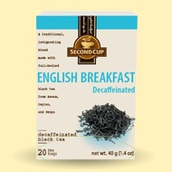 Decaffeinated English Breakfast from Second Cup