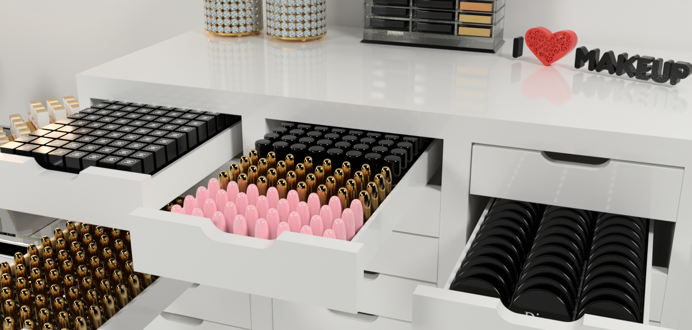 Beauty Room Makeup Organizers For Your Makeup Collection