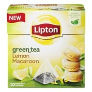 Green Tea Lemon Macaroon from Lipton