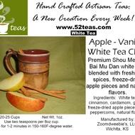 Apple-Vanilla White Chai from 52teas