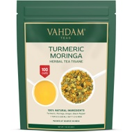 Turmeric Moringa Herbal Tea Tisane from Vahdam Teas