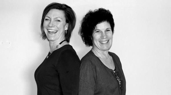 Jill Nyqvist och Ulrika Gill
