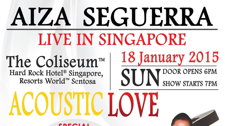 Aiza Seguerra Live in Singapore