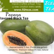 Papaya Flavored Black (Iced Tea Series) from 52teas