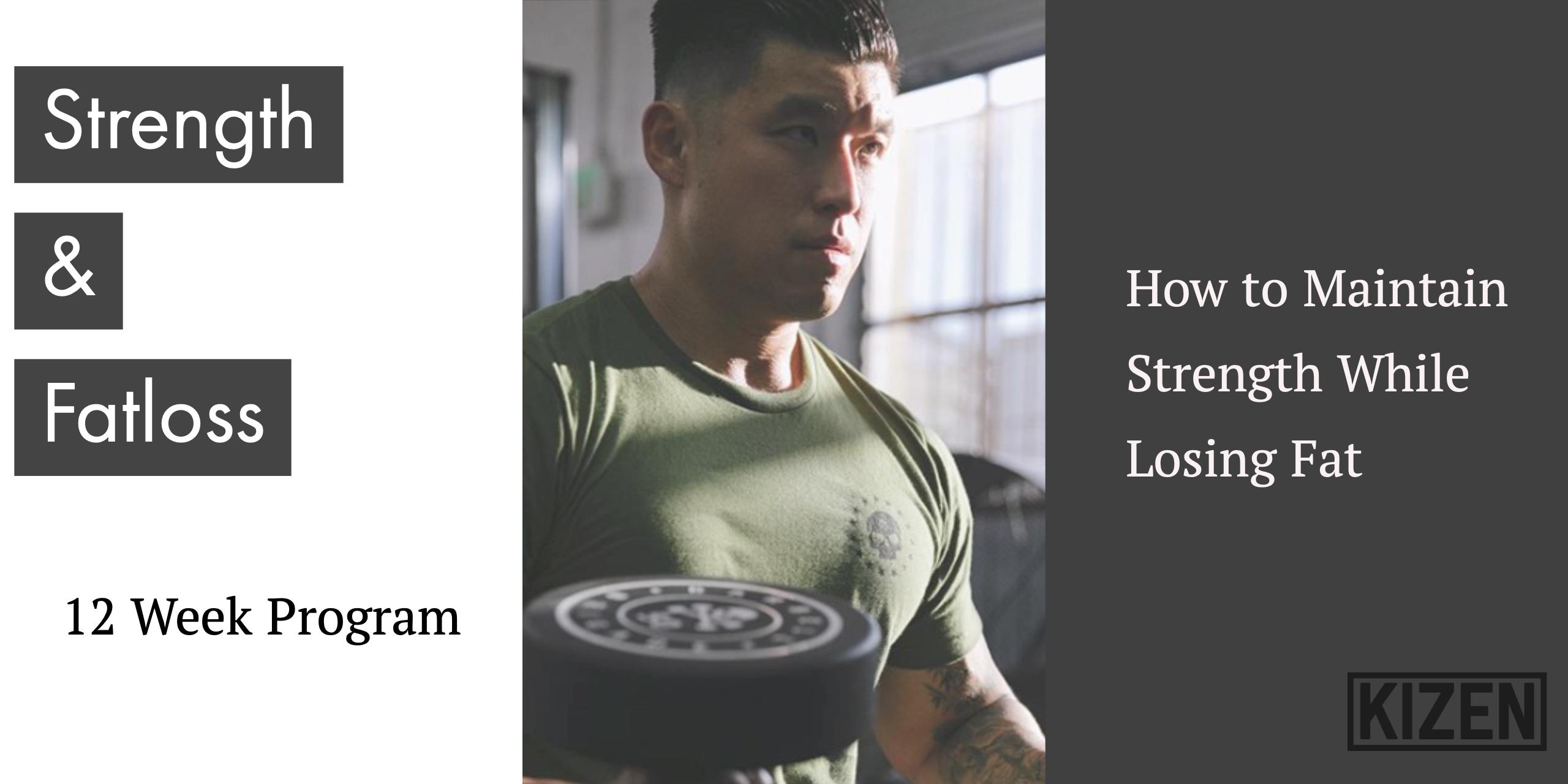 Strength and Fatloss Program - 12 Week   Kizen Training