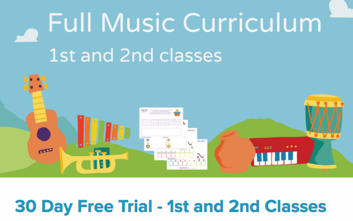Music in primary schools free trial