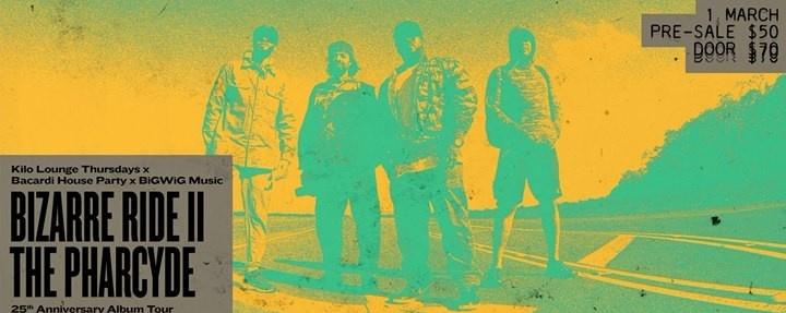 Bizarre Ride II the Pharcyde 25th Anniversary Album Tour