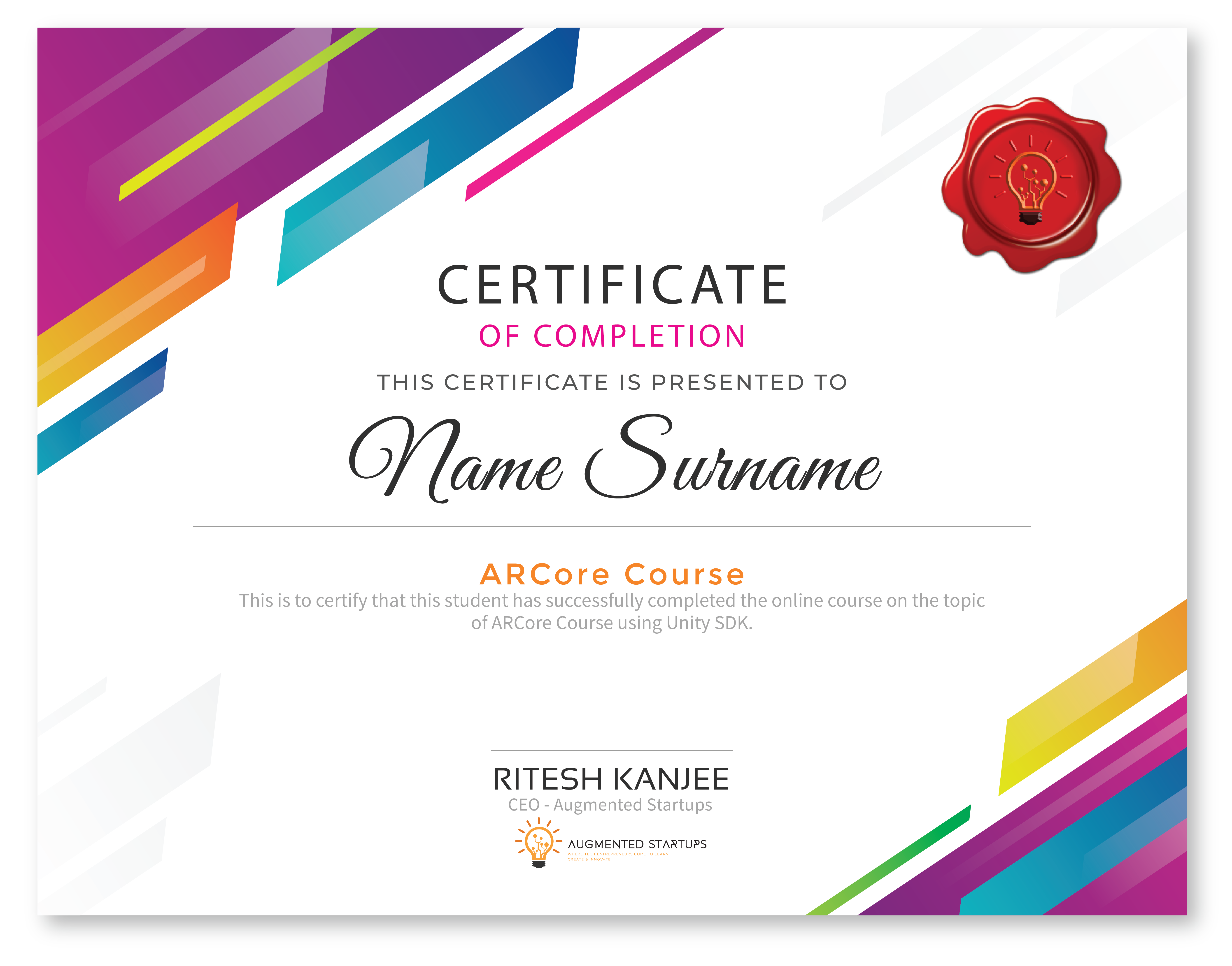 ARCore Master Class | Augmented Startups